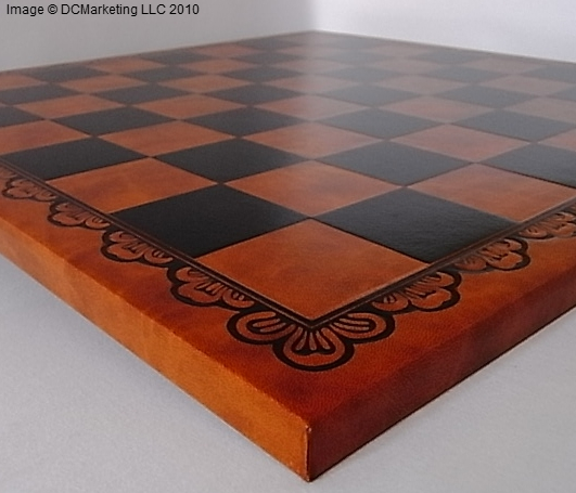 Leatherette Chess Board