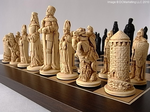 Lord of the rings chess set fantasy chess sets dragon - Lord of the rings chess set for sale ...