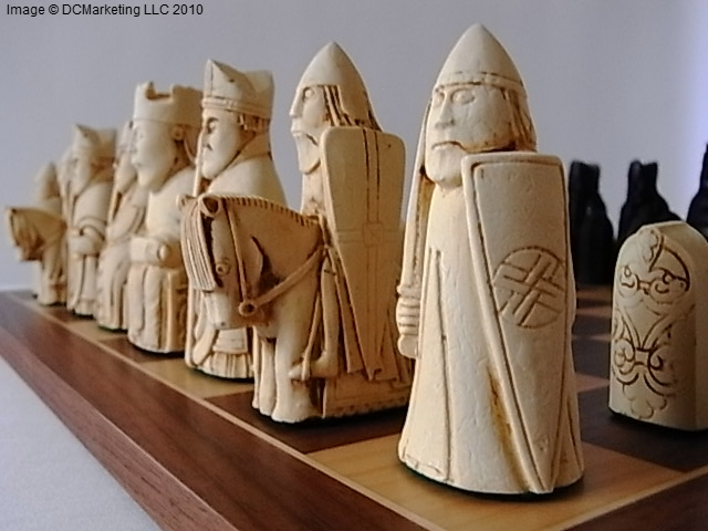 Medieval chess sets gothic chess set medieval chess pieces - Lord of the rings chess set for sale ...