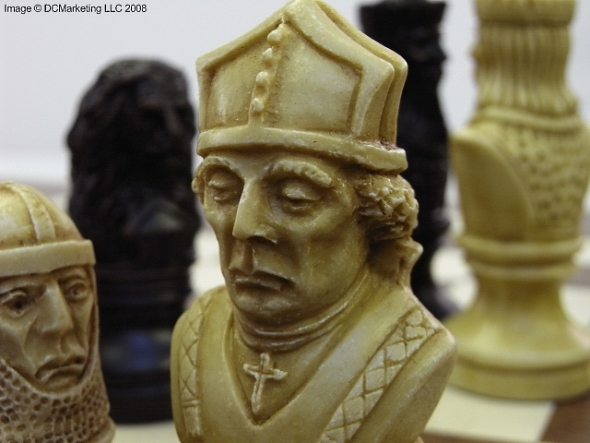 Richard the Lionheart Plain Theme Chess Set