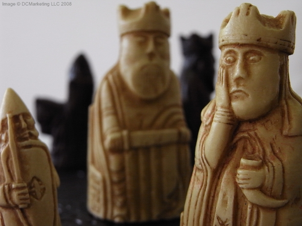 Medieval chess sets gothic chess set medieval chess pieces - Lewis chessmen set ...