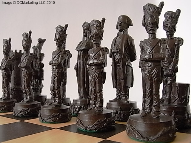 Battle Theme Chess Pieces