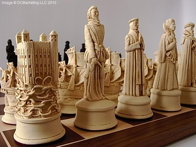 Very Historical Chess Sets - Theme Chess Sets - Beautiful Chess Sets HC66