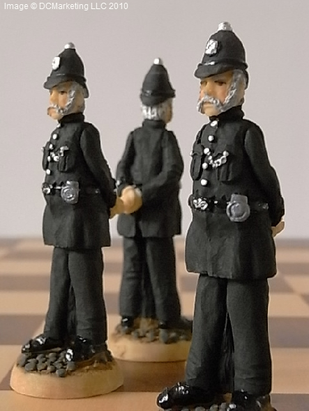 Sherlock Holmes Chess Set - Fully Hand Painted